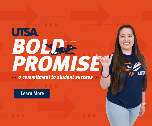 UTSA Bold Promise CTA